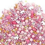 Sprinkles, Daydream Sprinklefetti 8oz, Pink Gold Unicorn Flamingo, Sprinkles for Baking, Gluten Free