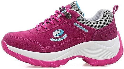 Zapatillas de senderismo para mujer, impermeables al aire libre ...