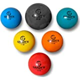 Plyo Soft Shell Weighted Ball Set 32, 21, 14, 7, 5, and 3.5oz-Pitching/Throwing Velocity Training for Baseball and Softball