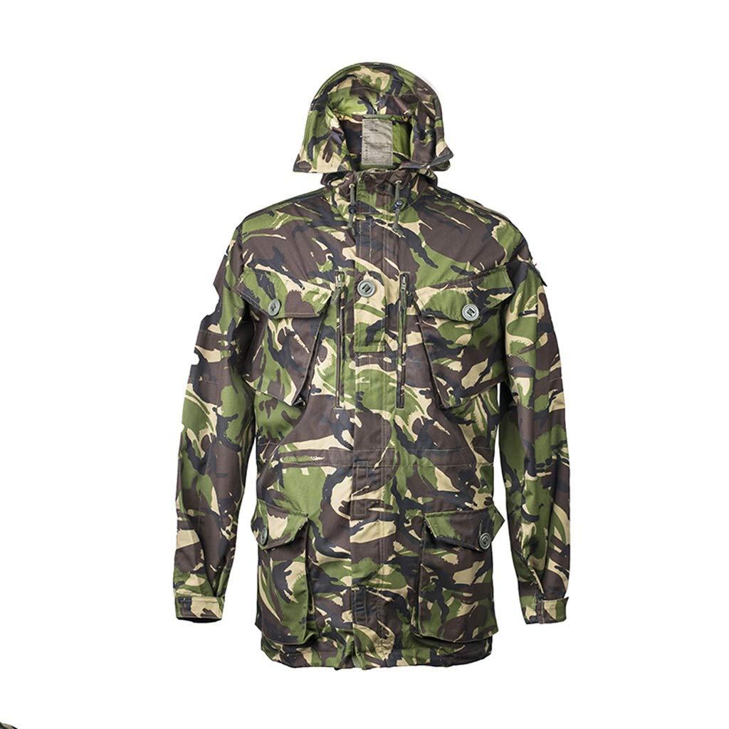 GRZP Dschungel Tarnung Windjacke, Taktische Jacke Outdoor Warme Jacke Trainingsanzug Kratzfeste Tragen Komfortable Atmungsaktive Jagdanzug (größe : 180/96)
