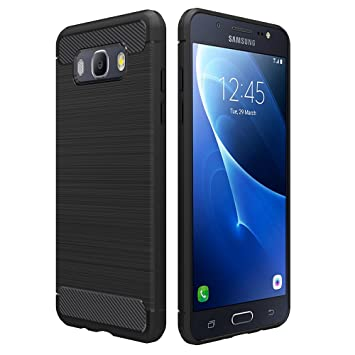 reputable site 2b090 2fba0 Simpeak For Samsung Galaxy J5 2016 Case Black, Premium Rugged Protector  Back Case for Samsung Galaxy J5 2016 5.2