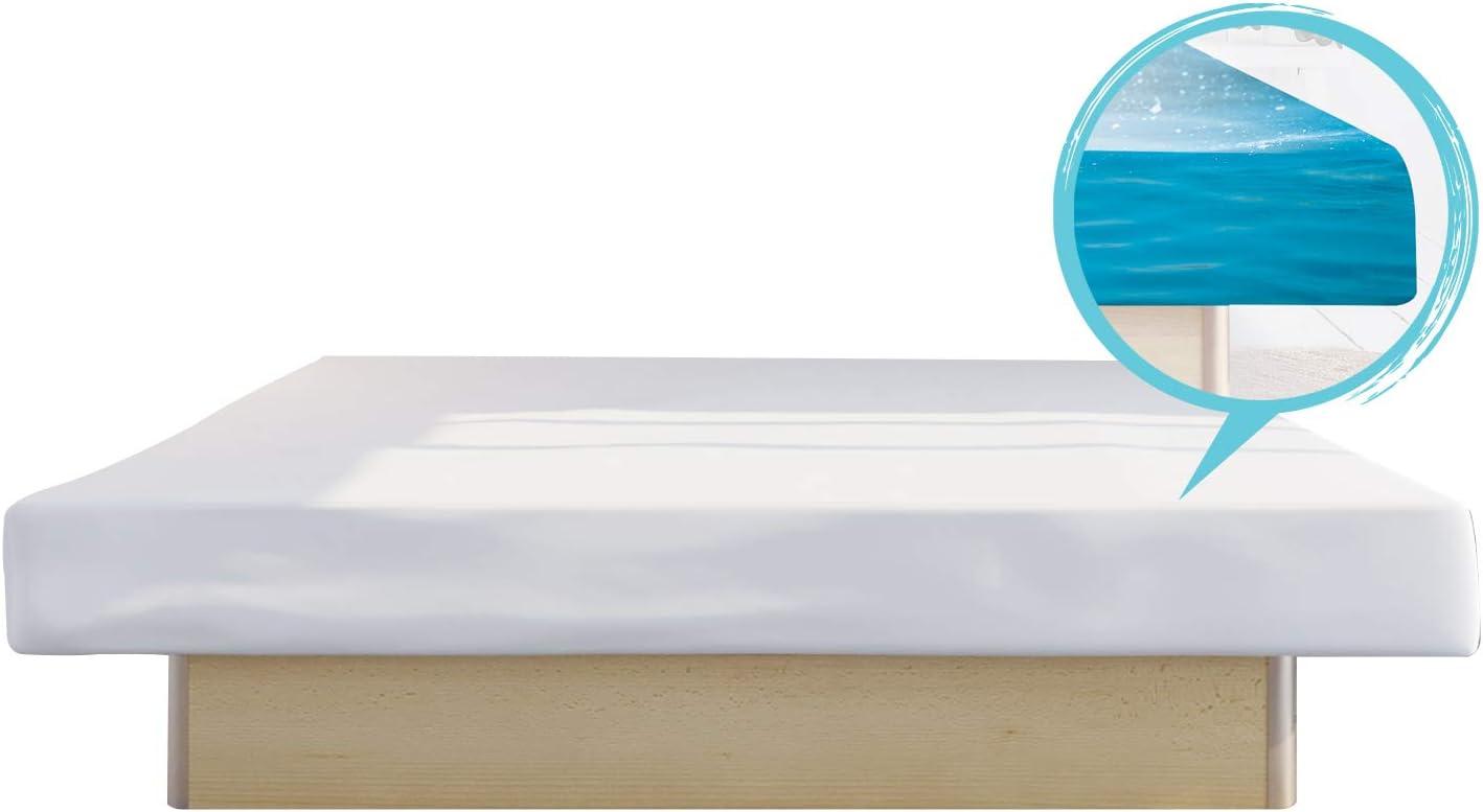Platz 3: Bellvita Wasserbett 140×200