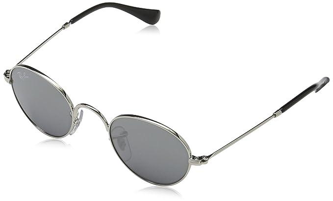 eed3be98941e3 Ray-Ban Rj9537s Montures de lunettes Argenté (Shiny  Silver Graysilvermirror)