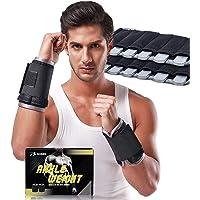 DOBEN Handgewichten en voetgewichten voor joggen (1 kg 2 kg 3 kg), gewichtsmanchetten staal - enkelgewichten voor pols…