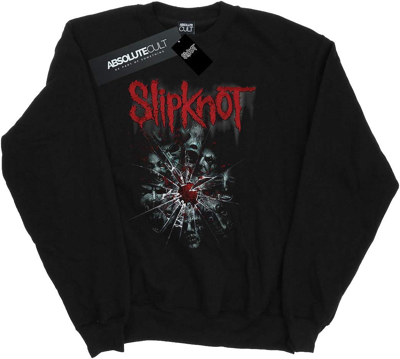 Absolute Cult Slipknot Mujer Shattered Glass Camisa De Entrenamiento
