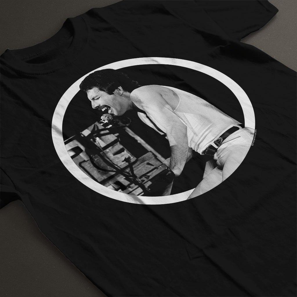 POD66 Freddie Mercury Queen At The Birmingham NEC 1980 Kids T-Shirt