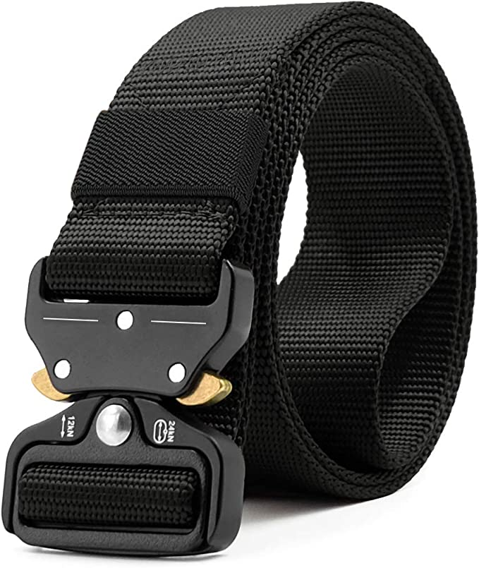 mens big size strong adjustable belt fits 40-49  INCH TOUGH CANVAS  GREAT NEW
