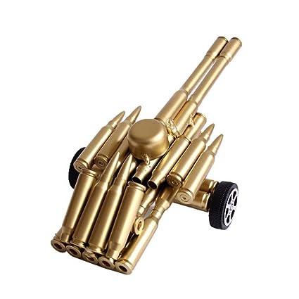 Amazon Com Tngchi Handicraft Crafts Bullets Shell Metal Artillery
