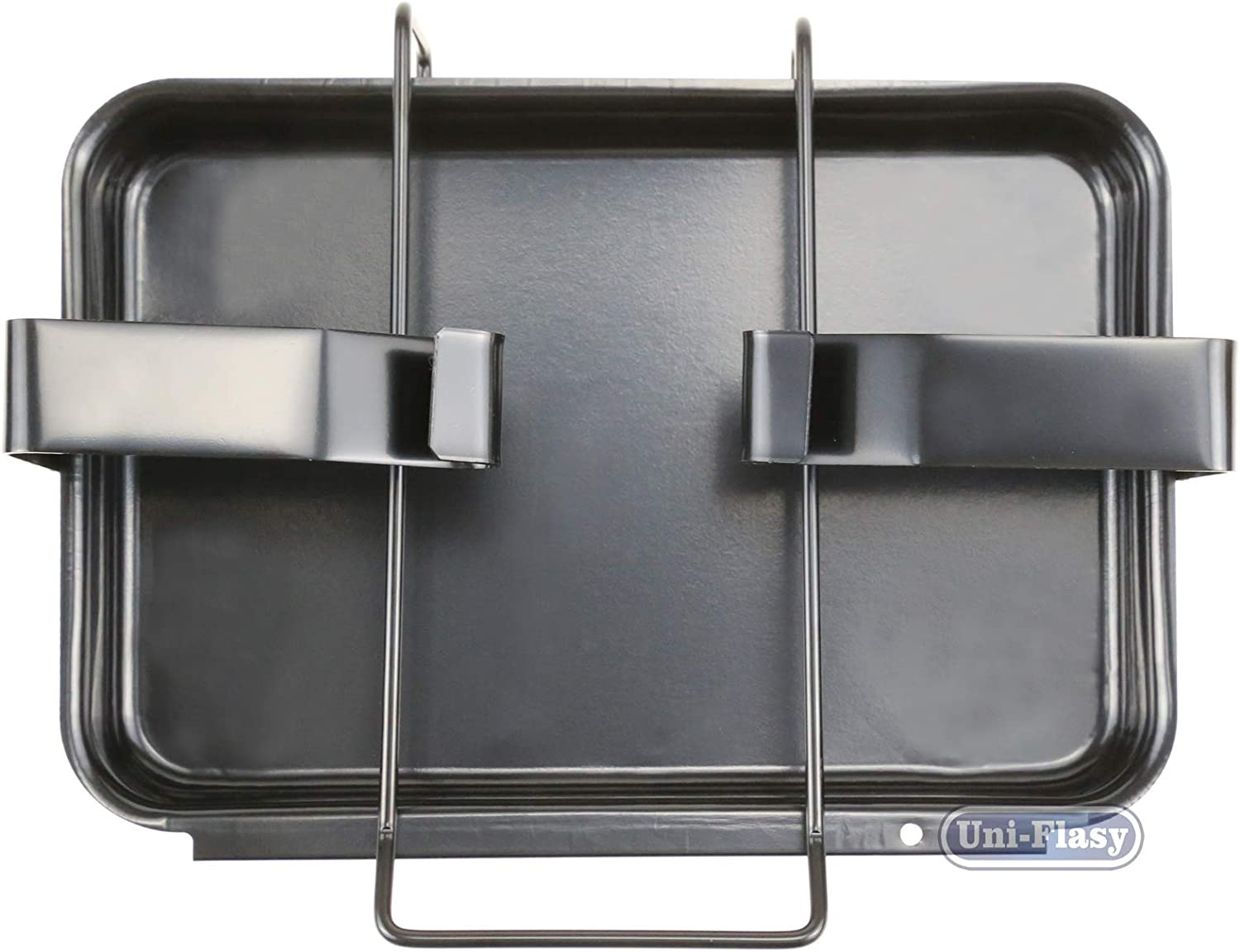 and Summit Grills Uniflasy 7515 Grill Catch Pan Holder//Drip Pan//Grease Collection Pan Replacement Parts for Weber Genesis 1000-5500 Platinum I//II Renewed Genesis Silver//Gold//Platinum Genesis II Series