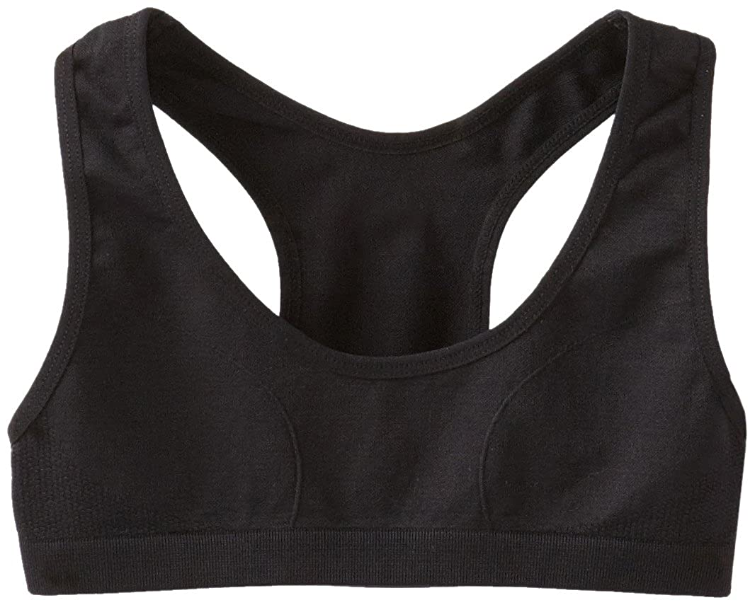 c7945b422504b Amazon.com  Maidenform Girl Big Girls  Seamless Racerback Sports Bra   Training Bras  Clothing