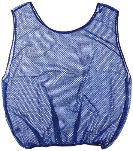 Sportime Mesh Scrimmage Vest - Adult Size - Blue ()