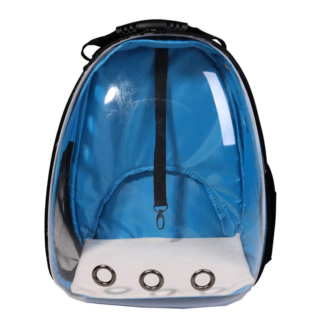 bluee Pet Carrier Backpack New Transparent Backpack Space Backpack Portable Dog Backpack Cat Backpack Portable Supplies Pet Space Bag Space Pet Bag