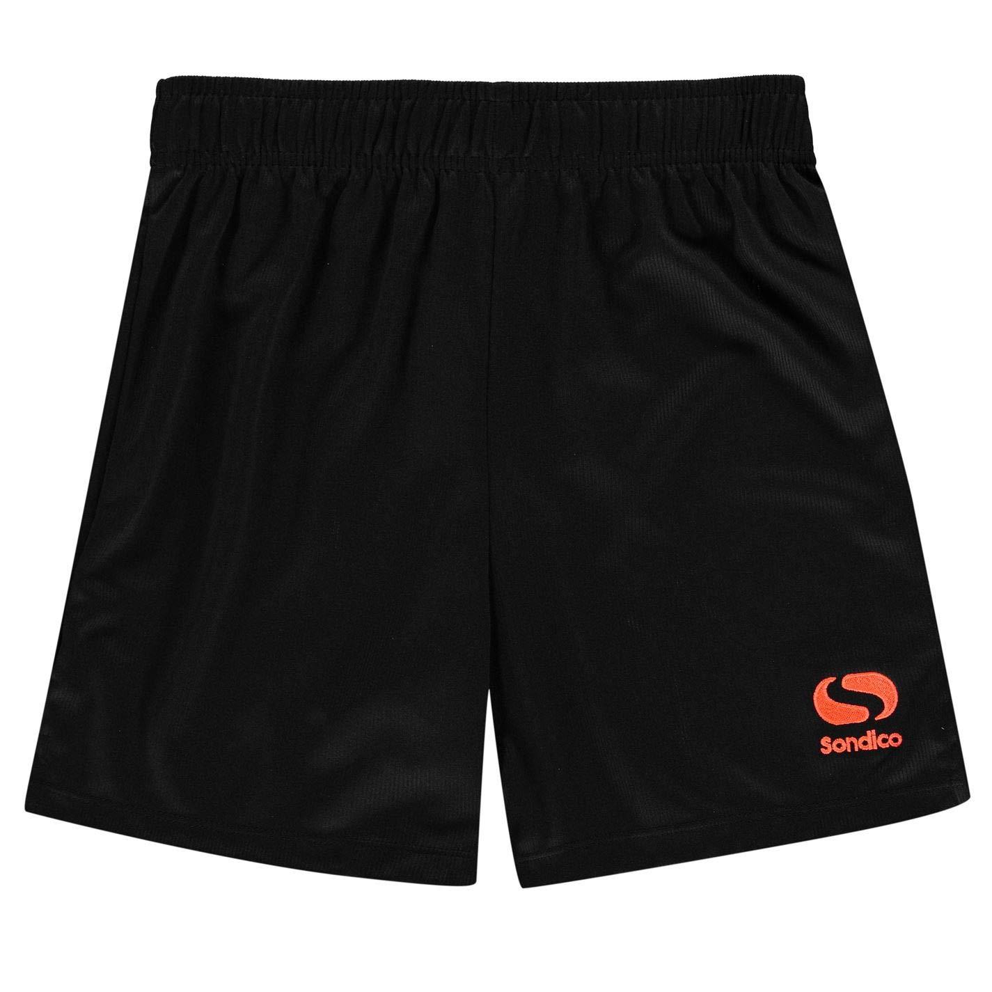 Sondico Kids Boys Core Football Shorts Junior Pants Trousers