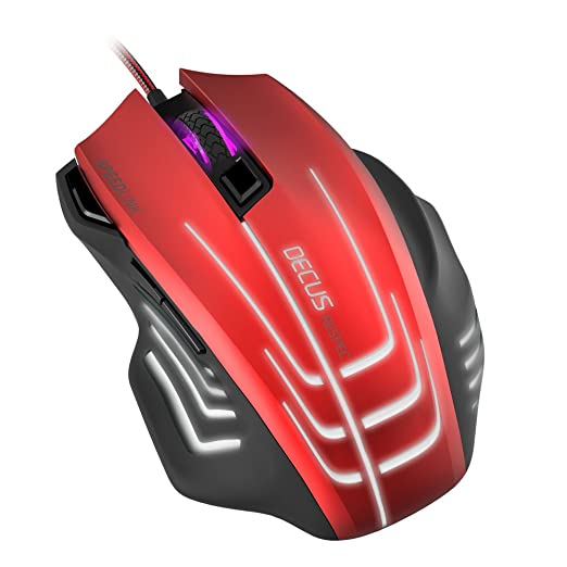 37 opinioni per Speedlink SL – 680005 BKRD Decus Respec (Up To 5000 DPI Gaming Mouse,