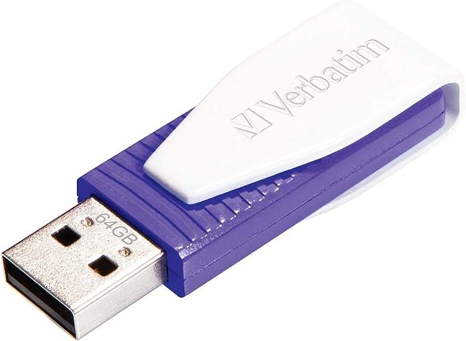 Verbatim Store N Go Swivel Usb Stick 64 Gb I Usb 2 0 Computer Zubehör