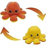 Peluche de Pulpo Reversible-Bonitos Juguetes de Peluche, muñeco de peluche juguetes creativos el Pulpo Reversible…