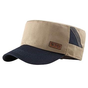 YanHoo - Gorra de béisbol Ajustable para Hombre, Estilo Vintage ...