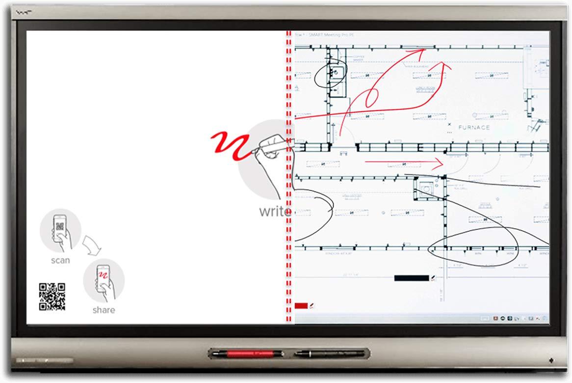 Smart technologies Smart Board 6075 Pro pizarra y accesorios ...