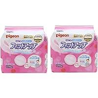 【Amazon.co.jp限定】 ピジョン 母乳パッド フィットアップ 母乳育児をする多くのママに選ばれている母乳パッド 126枚入×2個 0か月~