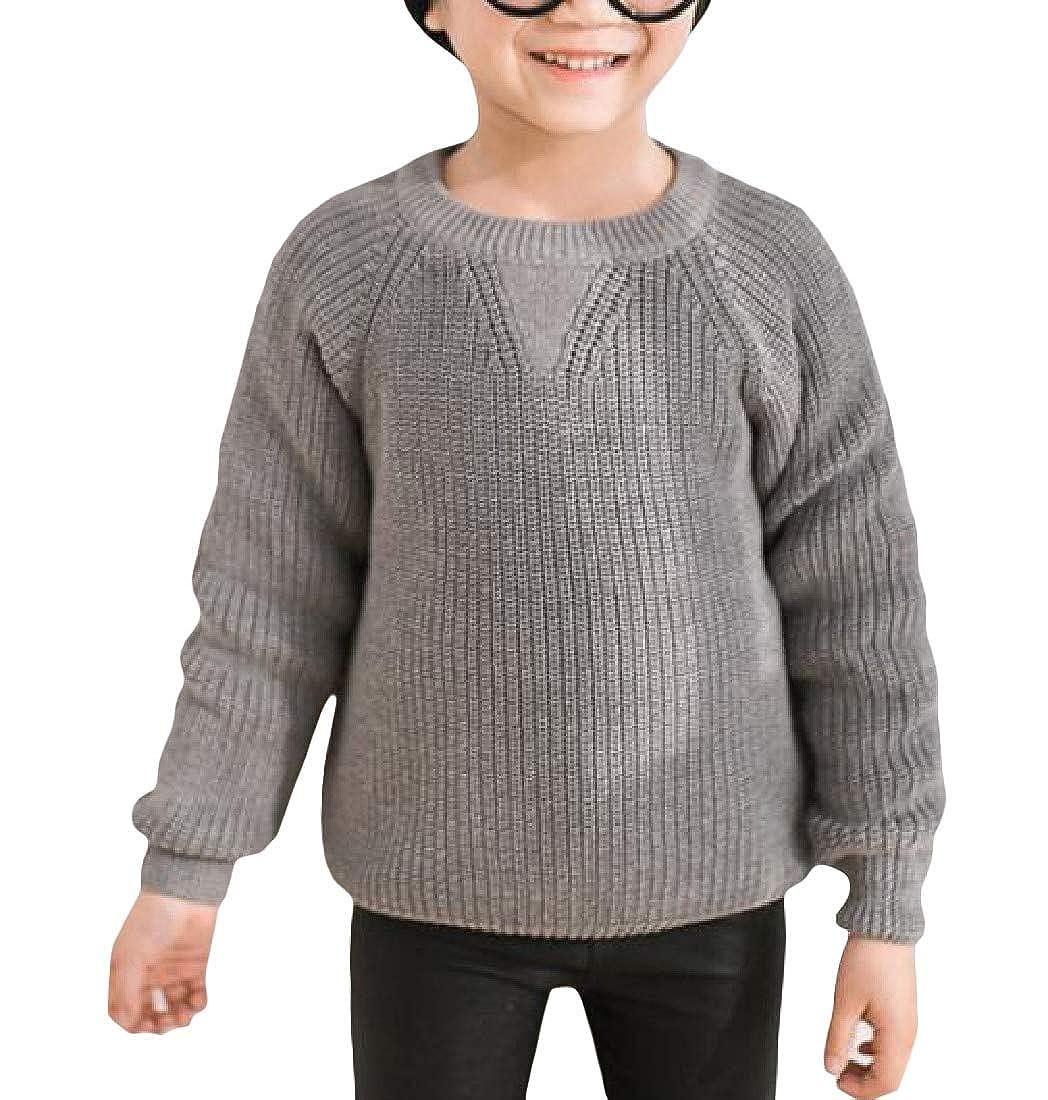 Pandapang Girls Knitted Fashion Cute Soft Pullover Jumper Sweater