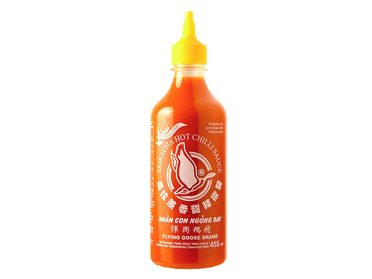 Flying Goose, Salsa de chile (Amarillo, Picante) - 12 de 455 ml. (Total 5460 ml.): Amazon.es: Alimentación y bebidas