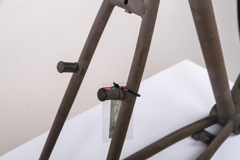 28 Zoll Stahl City Trekking Fahrrad Herren Rahmen frame Rh 58cm roh unlackiert