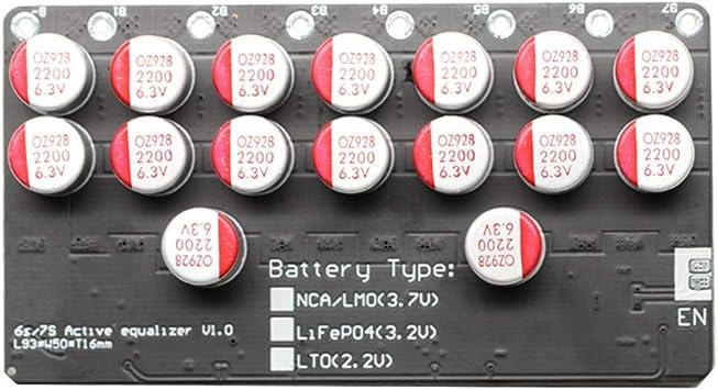Sodial 5a Balancer 7s Lifepo4 Li Ion Batterie Aktiver Elektronik