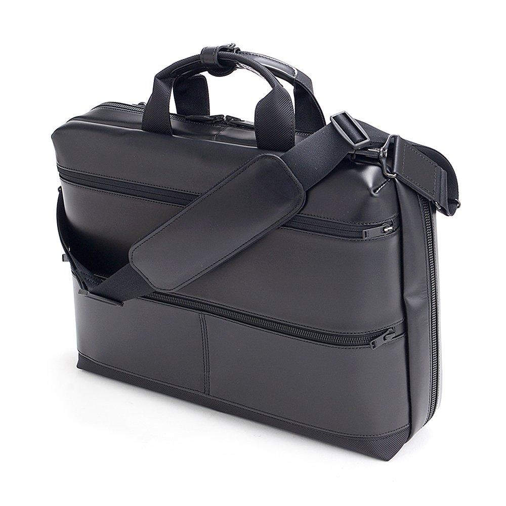 (ポーター) PORTER ブリーフケース(L) ショルダー ビジネスバッグ 117-01511  ブラック B01M66KWP7