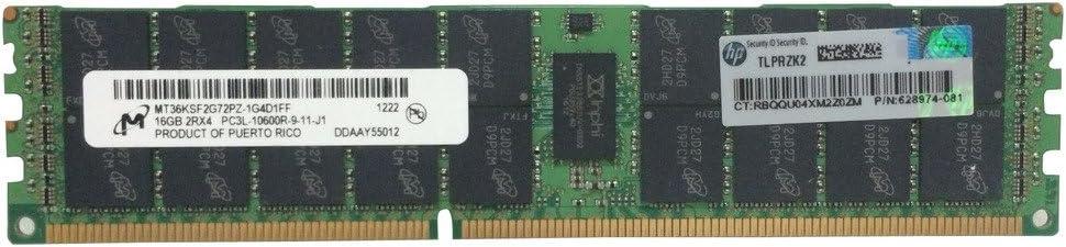 Texnite 484062-B21 8GB FBD PC2-64002 x 4GB Dual Rank Memory Kit for HP Proliant DL160 G5 DL160 G5p