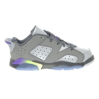 8520b4eab147 Jordan 6 Retro Low GP Little Kids Shoes Dark Grey Ultraviolet-Wolf Grey-