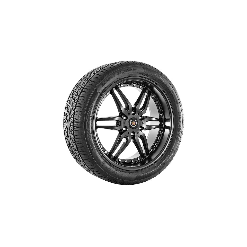 22 Inch black Giovanna Series Wheels Rims and Tires for Cadilac
