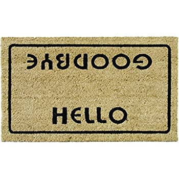 Amazon Com Rubber Cal Quot Hello Welcome Goodbye Funny