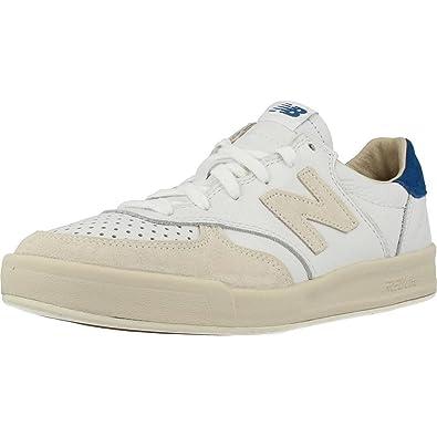 1668c3d08a7d5 Amazon.com  New Balance 300 Leather Shoe - Men s Casual White  Shoes