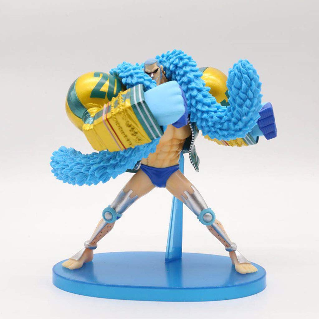 LYN Toy Statue One Piece Toy Model Cartoon Character Gift Collectibles One Reward 20th Anniversary Franco 17.5CM