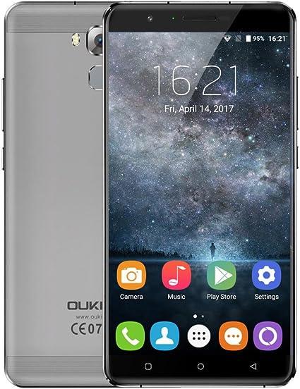 OUKITEL U16 MAX 4G Smartphone Pantalla 6.0 Pulgadas, Android 7.0 ...