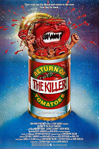 Posters USA Return of the Killer Tomatoes GLOSSY FINISH Movie Poster - FIL945 (24