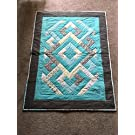 Diamond Dino Baby Boy Quilt