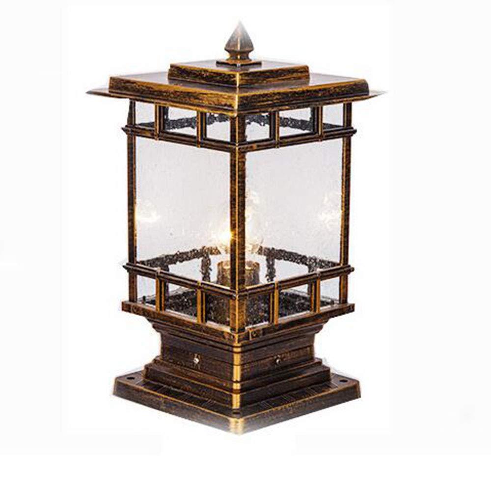 MICHEN Lampada da Parete Lampada da Terra Lampada da Giardino A LED Lampada Esterna in Acciaio Inox Impermeabile,Metallic,180  365  530Mm