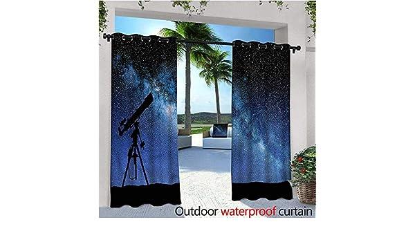 Cortinas Opacas para Galaxy al Aire Libre, con diseño de árbol de ...