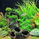 #6: Clearance Sale!DEESEE(TM)🌸🌸Resin Trunk Bole Driftwood Aquarium Ornament Fish Tank Decoration Accessories