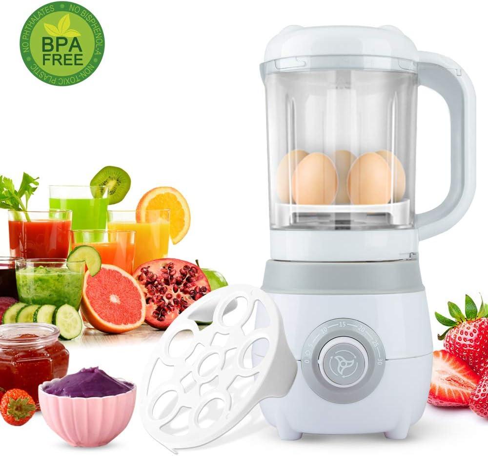 Food Processor Kitchen Food Chopper Vegetable Fruit Cutter Meat Grinders Electric Countertop Blenders 2 in 1 Egg steamer