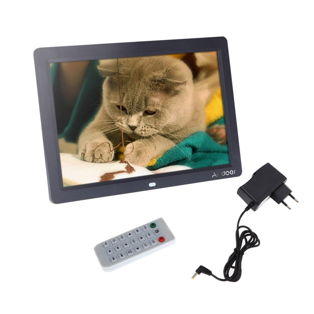 Amazon andoer digital photo picture frame 12 inch hd tft lcd amazon andoer digital photo picture frame 12 inch hd tft lcd 1280 x 800 full view picture screen industrial scientific jeuxipadfo Image collections