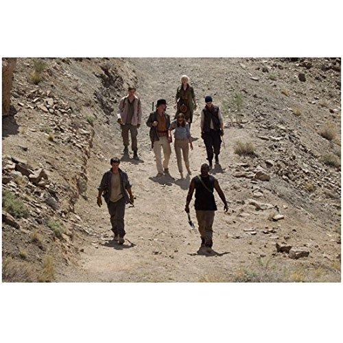 The Host Cast Walking Along Rocky Path 8 x 10 Inch Photo