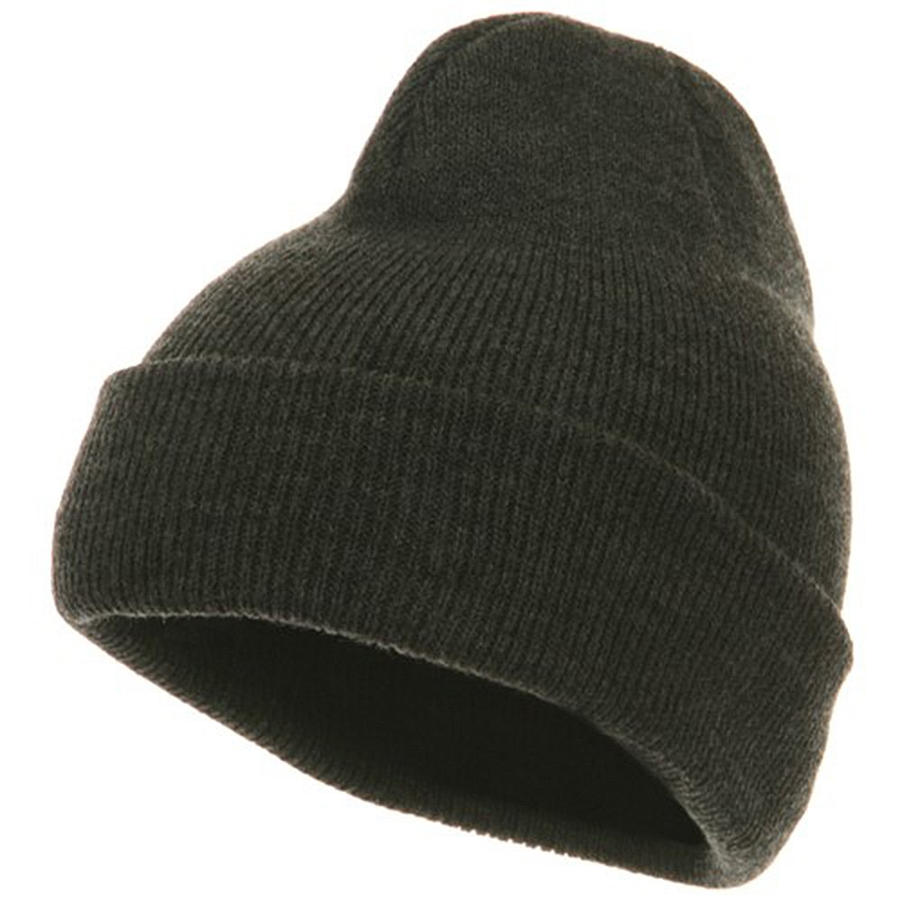 Artex Youth Knit Cuff Beanie Charcoal