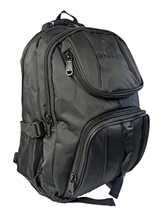 033ada139dc4 Roamlite PREMIUM Kids Childrens Backpack - SCHOOL RULES PLAIN NO LOGO Bag -  A4 Folder Size - Childs WATERPROOF ...