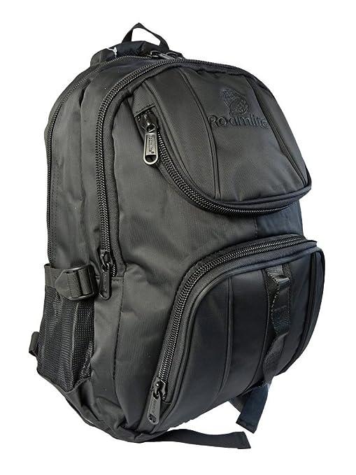 Plain School Backpack Rucksack Bag No Logo WATERPROOF Backpacks Kids Bags  RL18K (Black)  Amazon.ca  Luggage   Bags 2b0da247fb6ea