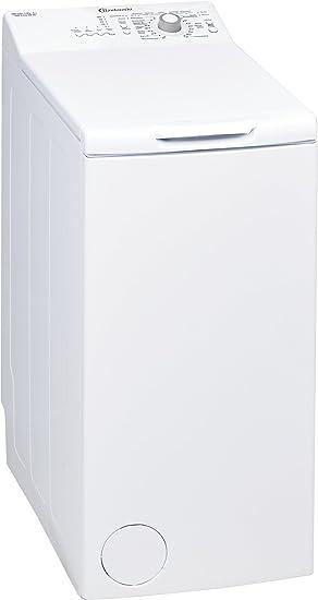 Bauknecht WAT Prime 550 SD Waschmaschine TL/A++ / 160 kWh/Jahr / 1000 UpM / 5,5 kg/Kurz 15 schnelle Wäsche in 15 min/Mengenau