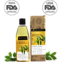 Soulflower Bhringraj Oil with Coconut and Sesame for Hair Loss and Greying, 225ml