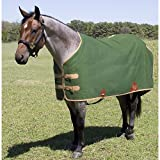 Mustang Canvas Turnout Blanket 72In Green