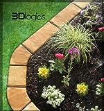 4 Piece Set Edge Paver Concrete Mold Includes 45 Degree